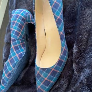 Pump ladies shoe Tartan size 10-9.5